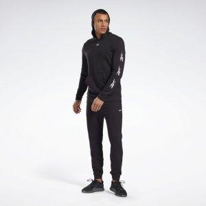 Спортивный костюм Training Essentials Vector Reebok. Цвет: black