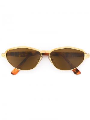 Солнцезащитные очки с оправой кошачий глаз Persol Pre-Owned. Цвет: коричневый