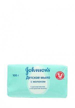 Мыло Johnson & Johnsons baby с экстрактом натурального молочка, 100 г