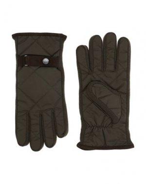 Перчатки PAUL & SHARK. Цвет: коричневый