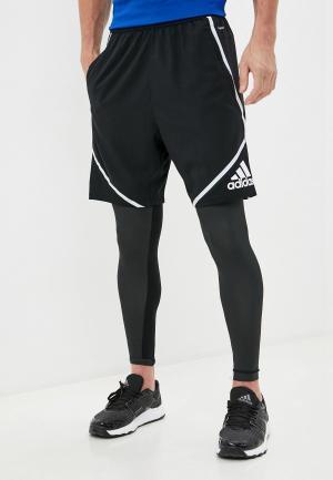 Шорты спортивные adidas PRIMEBLUE SHORT. Цвет: черный