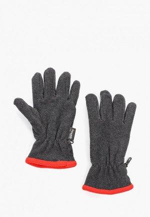 Перчатки Herman. Цвет: серый