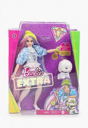 Кукла Barbie Экстра  в шапочке. Цвет: разноцветный