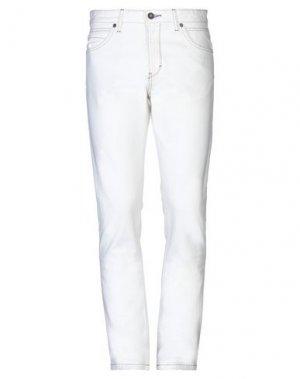 Джинсовые брюки NAPAPIJRI. Цвет: белый
