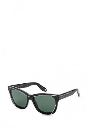 Очки солнцезащитные Givenchy GV 7028/S 807. Цвет: черный