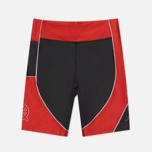 Женские шорты Essential Bike Quai 54 Jordan. Цвет: чёрный