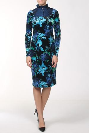 Платье Lissa. Цвет: синий