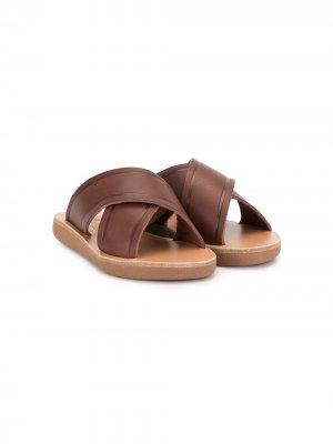 Сандалии Little Thais Ancient Greek Sandals. Цвет: коричневый