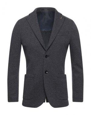 Пиджак PAOLONI. Цвет: темно-синий