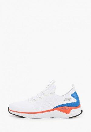 Кроссовки Skechers SOLAR FUSE. Цвет: белый