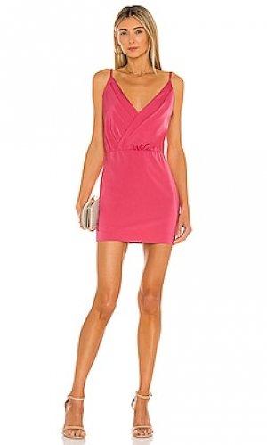 Мини платье cathryn NBD. Цвет: розовый