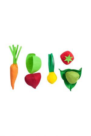 Набор карточек Овощи PAREMO. Цвет: мультицвет, зеленый