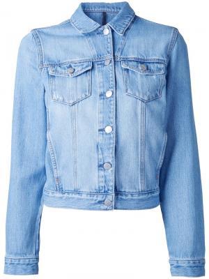 Джинсовая куртка Original Nobody Denim. Цвет: синий