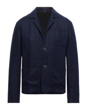 Пиджак DOPPIAA. Цвет: ярко-синий
