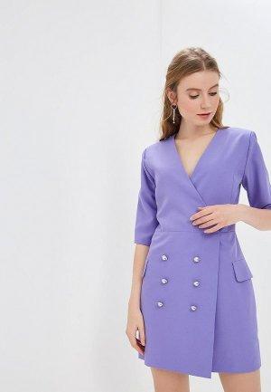 Платье GALOLBO. Цвет: фиолетовый