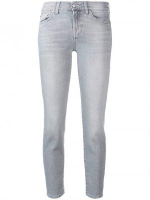 Укороченные джинсы кроя слим Illusion 7 For All Mankind