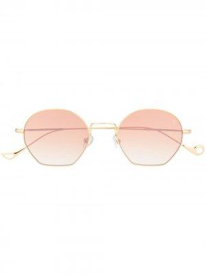 Солнцезащитные очки Triomphe Eyepetizer. Цвет: золотистый