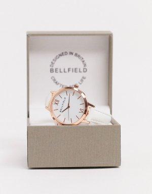 Двухцветные наручные часы -Серебряный Bellfield