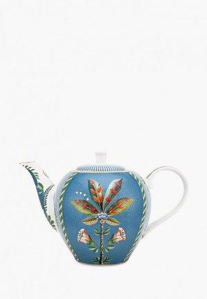 Чайник заварочный Pip Studio La Majorelle. Цвет: синий