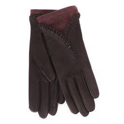Перчатки RIC_NADEGEAGSUED/S темно-фиолетовый AGNELLE