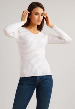 Пуловер Finn Flare. Цвет: белый