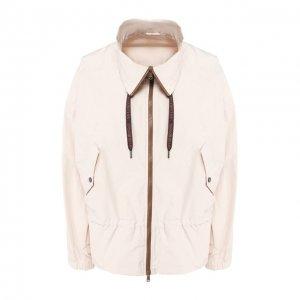 Куртка Brunello Cucinelli. Цвет: белый