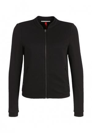 Куртка s.Oliver Denim. Цвет: черный