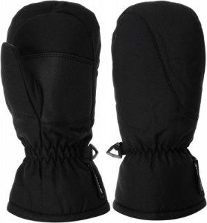 Варежки для мальчиков , размер 4 Ziener. Цвет: черный