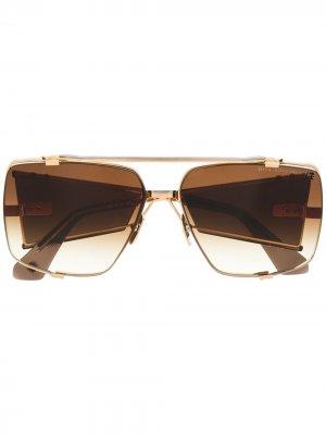 Солнцезащитные очки Souliner-Two Dita Eyewear. Цвет: коричневый