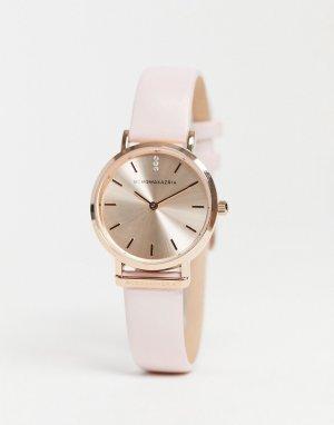 Часы с розовым ремешком BCBG Max Azria-Розовый цвет MaxAzria