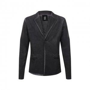 Пиджак изо льна и вискозы Thom Krom. Цвет: серый