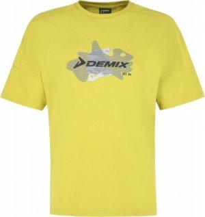 Футболка мужская , размер 48-50 Demix. Цвет: желтый