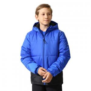 Куртка утепленная ES PAD JACKET Reebok. Цвет: vital blue / black