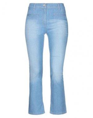 Джинсовые брюки-капри BRAX. Цвет: синий