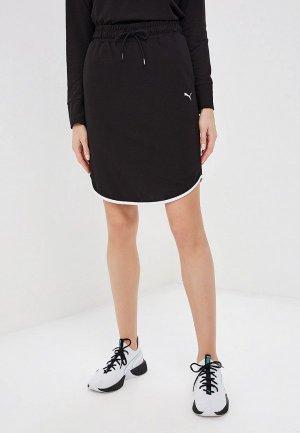 Юбка PUMA Summer Skirt. Цвет: черный