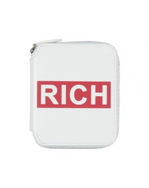 Бумажник JOHN RICHMOND. Цвет: белый