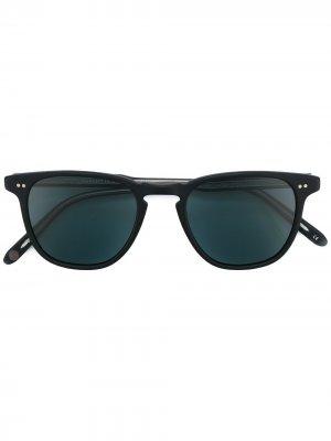 Солнцезащитные очки Brooks Garrett Leight. Цвет: черный