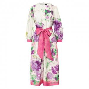 Шелковое платье Marc Jacobs Runway. Цвет: розовый