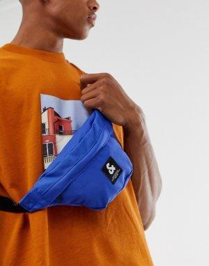 Темно-синяя сумка-кошелек на пояс -Темно-синий Jack & Jones