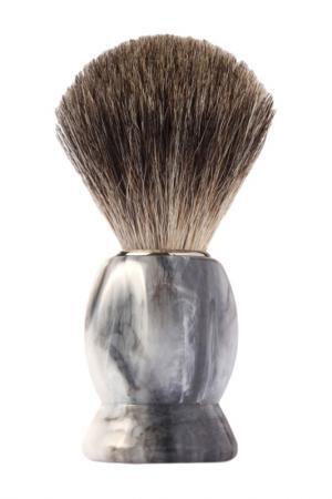 Помазок для бритья Mondial. Цвет: серый мрамор