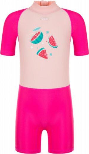 Плавательный костюм для девочек , размер 104 Joss. Цвет: розовый