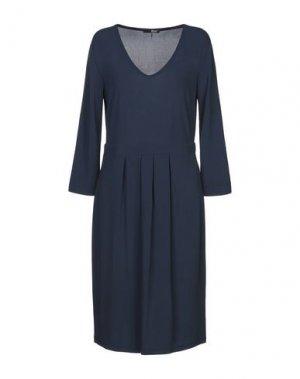 Платье до колена B.YU. Цвет: синий