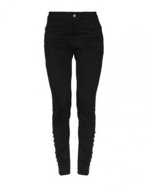 Джинсовые брюки MARANI JEANS. Цвет: черный