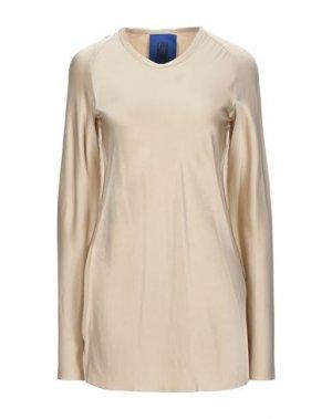 Блузка ROQUE ILARIA NISTRI. Цвет: бежевый