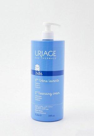 Крем для душа Uriage Первый очищающий пенящийся крем, Флакон-помпа, 1 л. Цвет: прозрачный