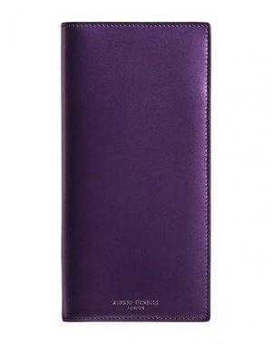 Бумажник DUNHILL. Цвет: фиолетовый