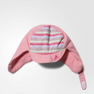 Шапка USHANKA Performance adidas. Цвет: розовый