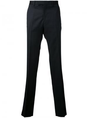 Классические брюки Cerruti 1881. Цвет: чёрный