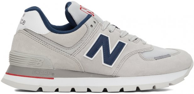 Grey & Navy 574 Sneakers New Balance. Цвет: grey