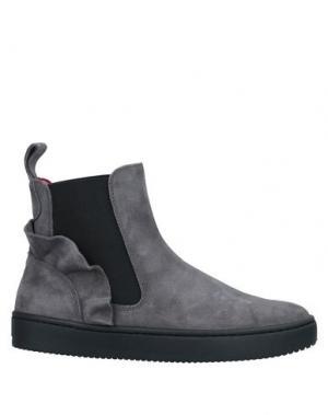 Полусапоги и высокие ботинки AURORA. Цвет: серый